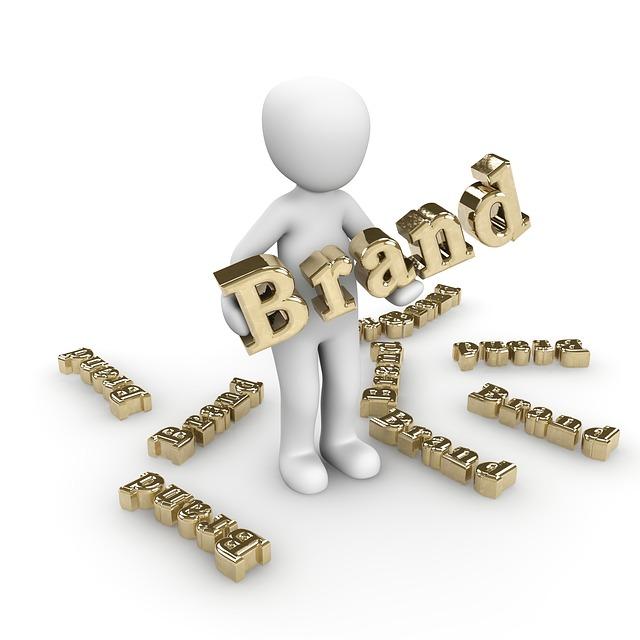 Brändi on tärkeä osa yritystä.